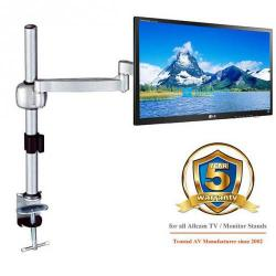 Cheap Stationery Supply of Acava Monitor Single Arm 360 LCD Rotation 6kg Silver AVM04G Office Statationery