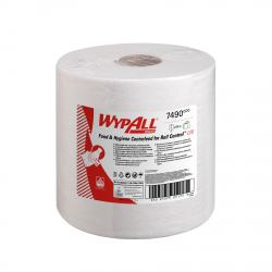 Cheap Stationery Supply of WypAll L10 Centrefeed Hand Towel Roll Single Ply 380x185mm 630 Sheets per Roll White 7490 Pack of 6 Office Statationery