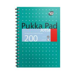 Cheap Stationery Supply of Pukka Metallic Jotta B5 80gsm Green 8520-MET Pack of 3 Office Statationery