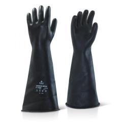 Cheap Stationery Supply of Ansell Industrial Latex Medium Weight 17inch Gauntlet Black Size 08 ILMW1708 *Up to 3 Day Leadtime* Office Statationery