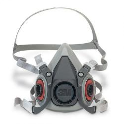 Cheap Stationery Supply of 3M 6000 Series Half Mask Medium Grey 3M6200M *Up to 3 Day Leadtime* Office Statationery