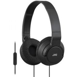 Cheap Stationery Supply of JVC On Ear Headphones with One Button Remote and Microphone (Black) for iPhone/iPod iPad/Android BlackBerry HA-SR185-B-E Office Statationery