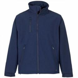 Cheap Stationery Supply of SuperTouch (XXXL) Verno Soft Shell Jacket Breathable and Shower Proof (Navy) 58396 Office Statationery