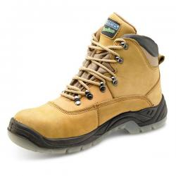 Cheap Stationery Supply of Click Traders S3 Thinsulate Boot PU/Leather/TPU Nubuck Size 8 Tan CTF25NB08 *Up to 3 Day Leadtime* Office Statationery