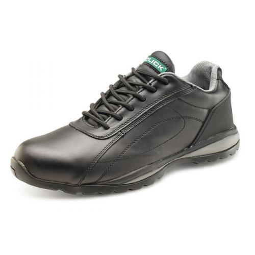 Click Footwear Trainers Leather Steel