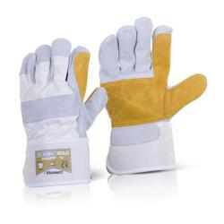 Cheap Stationery Supply of B-Flex Canadian Double Palm High Quality Rigger Glove CANDPP Pack of 60 *Up to 3 Day Leadtime* Office Statationery