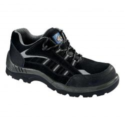 Cheap Stationery Supply of Rockfall ProMan Trainer Suede Fibreglass Toecap Black Size 4 PM4040 4 Office Statationery