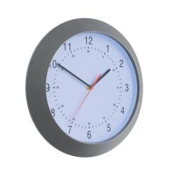 Cheap Stationery Supply of 5 Star Facilities Wall Clock with Coloured Case Diameter 300mm Dark Grey Office Statationery