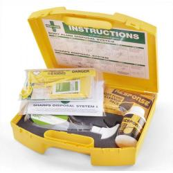 Cheap Stationery Supply of Click Medical Biohazard Combination Kit CM0640 *Up to 3 Day Leadtime* Office Statationery
