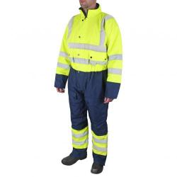 Cheap Stationery Supply of B-Seen Hi-Vis Thermal Waterproof Coveralls L Yellow/Navy BD900SYNL *Up to 3 Day Leadtime* Office Statationery