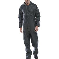 Cheap Stationery Supply of Super B-Dri Weatherproof Coveralls L Olive Green SBDCOL *Up to 3 Day Leadtime* Office Statationery
