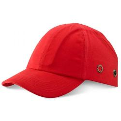 Cheap Stationery Supply of B-Brand Safety Baseball Cap Red BBSBCRE *Up to 3 Day Leadtime* Office Statationery