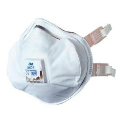 Cheap Stationery Supply of 3M Mask P2V R Premium Buckle Strap Respirator White 8825 Pack of 5 *Up to 3 Day Leadtime* Office Statationery