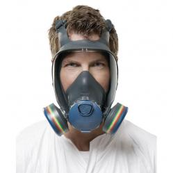 Cheap Stationery Supply of Moldex 9000 Full Face Mask Lightweight Peripheral Vision Small Grey M9001 *Up to 3 Day Leadtime* Office Statationery