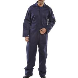 Cheap Stationery Supply of Click Fire Retardant Boilersuit Cotton Size 46 Navy Blue CFRBSN46 *Up to 3 Day Leadtime* Office Statationery