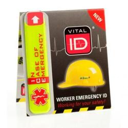 Cheap Stationery Supply of Vitalid Emergency ID Standard (Ice) WSID01 *Up to 3 Day Leadtime* Office Statationery