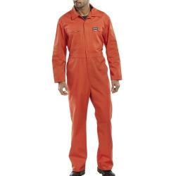 Cheap Stationery Supply of Super Click Workwear Heavy Weight Boilersuit Orange Size 58 PCBSHWOR58 *Up to 3 Day Leadtime* Office Statationery