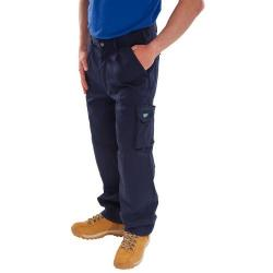 Cheap Stationery Supply of Click Traders Newark Cargo Trousers 320gsm 44 Navy Blue CTRANTN44 *Up to 3 Day Leadtime* Office Statationery