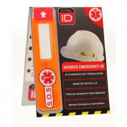 Cheap Stationery Supply of Vitalid Emergency ID Data Window Global WSID02G *Up to 3 Day Leadtime* Office Statationery