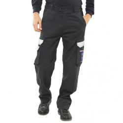 Cheap Stationery Supply of Click Arc Flash Trousers Fire Retardant Navy Blue 34-Short CARC4N34S *Up to 3 Day Leadtime* Office Statationery
