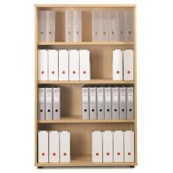 Cheap Stationery Supply of Sonix Office Furniture (100x42.5x160cm) Tall Bookcase with Three Shelves (Beech) w9873b Office Statationery