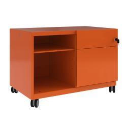 Cheap Stationery Supply of Bisley Caddy Pedestal Right Hand 800x490x563 Orange CADM08RH-bn6 Office Statationery
