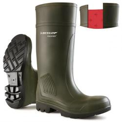 Cheap Stationery Supply of Dunlop Purofort Professional Safety Wellington Boot Size 8 Green C46293308 *Up to 3 Day Leadtime* Office Statationery
