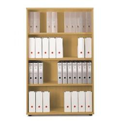 Cheap Stationery Supply of Sonix Office Furniture (100x42.5x160cm) Tall Bookcase with Three Shelves (Oak) w9873o Office Statationery