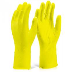 Cheap Stationery Supply of Glovezilla Nitrile Disposable Grip Glove 30cm S Yellow GZNDG15YS Pack of 500 *Up to 3 Day Leadtime* Office Statationery
