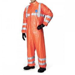 Cheap Stationery Supply of Tyvek 500 High Visibility Coverall Medium Orange TBS500HVM *Up to 3 Day Leadtime* Office Statationery