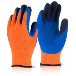 Cheap Stationery Supply of B-Flex Latex Thermo-Star Fully Dipped Glove Size 9 Orange BF3OR09 *Up to 3 Day Leadtime* Office Statationery