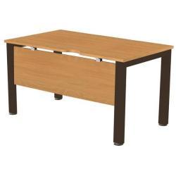 Cheap Stationery Supply of Sonix Office Furniture (120x80cm) Rectangular Desk (Beech) with a Black Frame fbcsmw12-1bbk Office Statationery