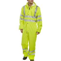 Cheap Stationery Supply of B-Seen Super B-Dri Coveralls Breathable M Saturn Yellow PUC471SYM *Up to 3 Day Leadtime* Office Statationery