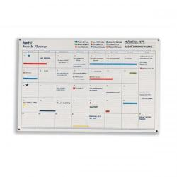 Cheap Stationery Supply of Mark-it Perpetual Month Planner Laminated with Notes Column W900xH600mm MP Office Statationery