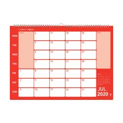 Cheap Stationery Supply of Collins Colplan 2020 Colplan Memo Calendar Month to View Landscape 297x420mm Assorted CMC 2020 Office Statationery
