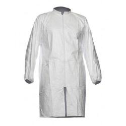 Cheap Stationery Supply of Tyvek 500 Labcoat PL309 Two Pockets PPE Cat 1 Large White TPL309L Pack of 10 *Up to 3 Day Leadtime* Office Statationery