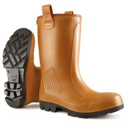 Cheap Stationery Supply of Dunlop Purofort Rigair Safety Rigger Boots Fur Lined Size 11 Tan C462743.FL11 *Up to 3 Day Leadtime* Office Statationery