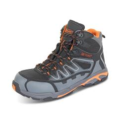 Cheap Stationery Supply of Click Footwear Leather S3 Hiker Boot Composite Toe Size 11 Black/Grey CF3511 *Up to 3 Day Leadtime* Office Statationery