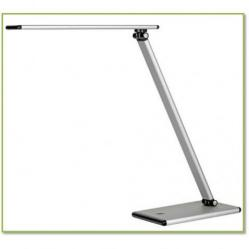 Cheap Stationery Supply of Unilux Terra LED Desk Lamp Adjustable Arm 5W Max Height 510mm Base 180x120mm Silver 400087000 Office Statationery