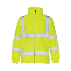 Cheap Stationery Supply of High-Vis Fleece Jacket Poly with Zip Fastening Small Yellow CARFSYS *Approx 2/3 Day Leadtime* Office Statationery