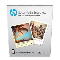 Cheap Stationery Supply of Hewlett Packard HP Social Media Snapshots Removable Sticky Photo Paper 10x13cm W2G60A 25sheets *3to5 Day Leadtime* Office Statationery