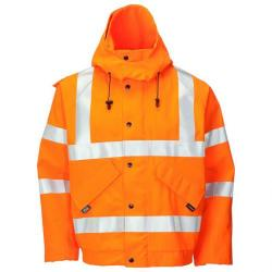 Cheap Stationery Supply of B-Seen Gore-Tex Bomber Jacket for Foul Weather Medium Orange GTHV153ORM *Up to 3 Day Leadtime* Office Statationery