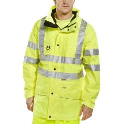 Cheap Stationery Supply of B-Seen High Visibility Carnoustie Jacket 4XL Saturn Yellow CARSYXXXXL *Up to 3 Day Leadtime* Office Statationery