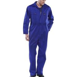 Cheap Stationery Supply of Super Click Workwear Heavy Weight Boilersuit Royal Blue Size 50 PCBSHWR50 *Up to 3 Day Leadtime* Office Statationery