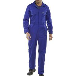 Cheap Stationery Supply of Click Workwear Boilersuit Royal Blue Size 48 PCBSR48 *Up to 3 Day Leadtime* Office Statationery