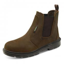 Cheap Stationery Supply of Click Traders S3 PUR Dealer Boot PU/Rubber/Leather Size 8 Brown CTF42BR08 *Up to 3 Day Leadtime* Office Statationery