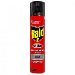 Cheap Stationery Supply of Raid Ant & Cockroach Insecticide Aerosol 300ml 97734 Office Statationery