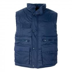 Cheap Stationery Supply of Body Warmer Polyester with Padding & Multi Pockets Large Navy HBNL *Approx 3 Day Leadtime* Office Statationery