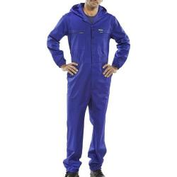 Cheap Stationery Supply of Super Click Workwear Hooded Boilersuit Royal Blue Size 36 PCBSHCAR36 *Up to 3 Day Leadtime* Office Statationery