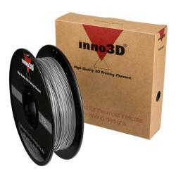 Cheap Stationery Supply of Inno3D ABS Filament for 3D Printer 1.75x200mm 0.5kg Silver 3DPFA175SL05 Office Statationery